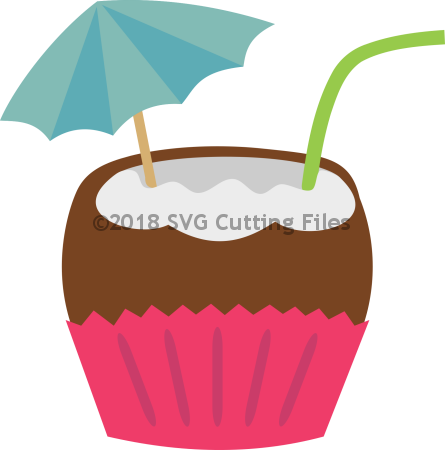 Coconut Drink Cupcake