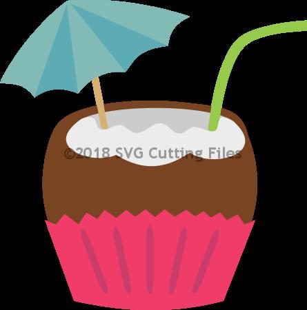 Coconut Drink Cupcake