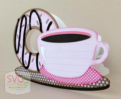 Coffee Donuts Card