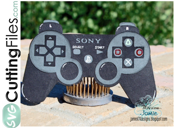 Game Controller Slide Card