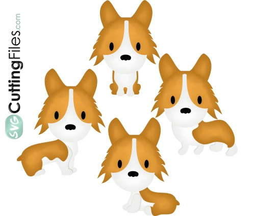 Corgi Pup Dogs