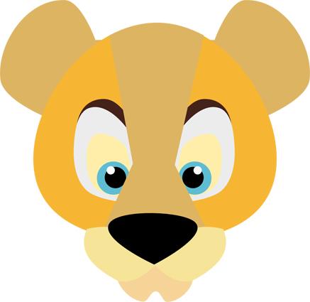 Cougar Flat head