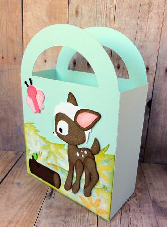Deer Handled Bag