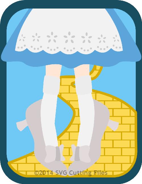 Dorothy Shoe Card Kit