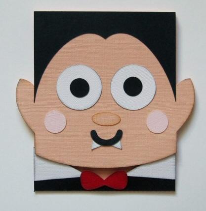 Dracula Flip Card