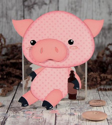 Drunken Pig Card