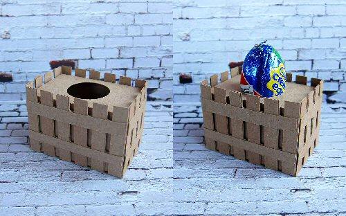 Easter Basket Gusset Egg Holder