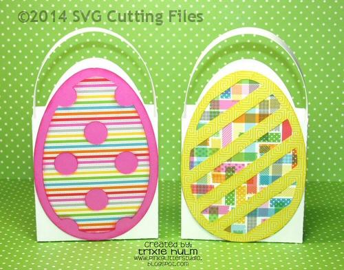 Egg Shaped Box SET OF 4