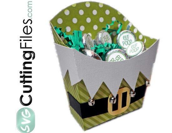 Elf Fry Box Container