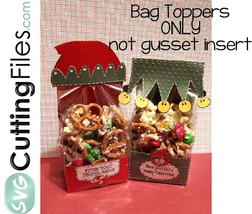 Elf Bag Topper Set (hat and collar)