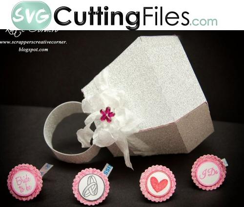 Free Cutting Files Cake Box