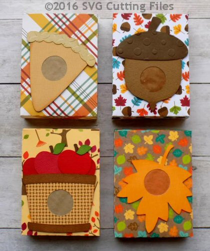 Fall Punch Boxes