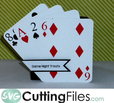 Fanned Playing Card Box