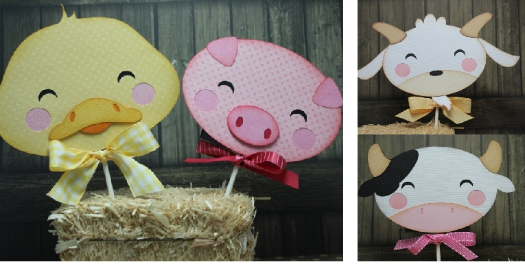 Kawaii Farm Lollipop Cover JUMBO SIZE