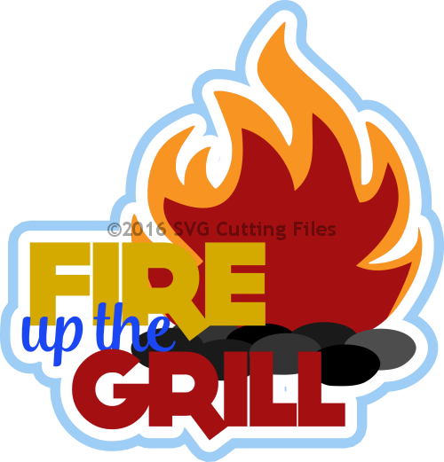 Fire Up the Grill Title