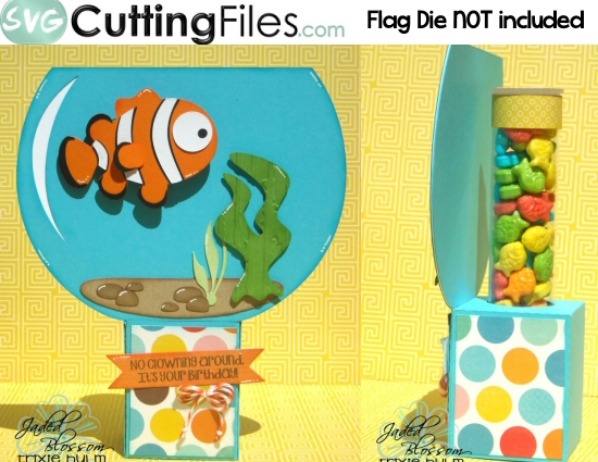 Clown Fish Candy Tube Holder