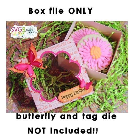 Flower Cookie Box