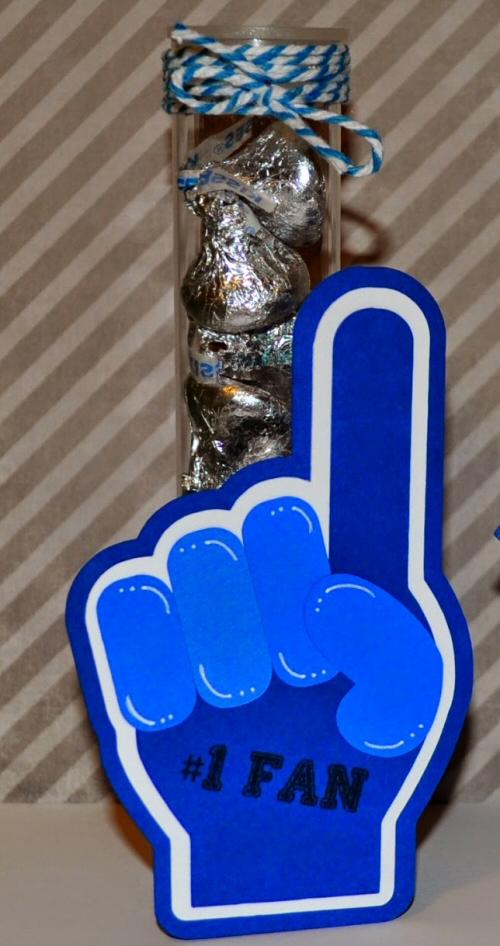 Foam Finger Tube Holder