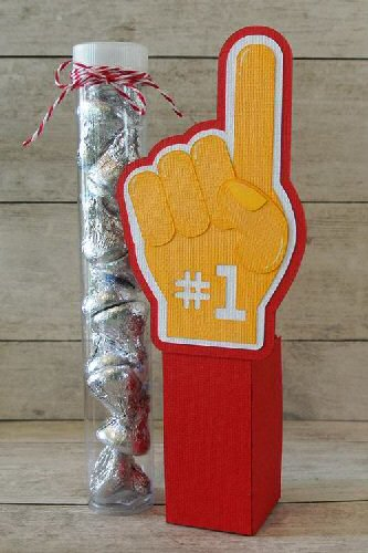 Foam Finger Tube Holder