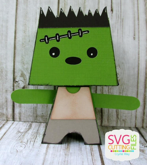 Frankenstein Standing Monster Box