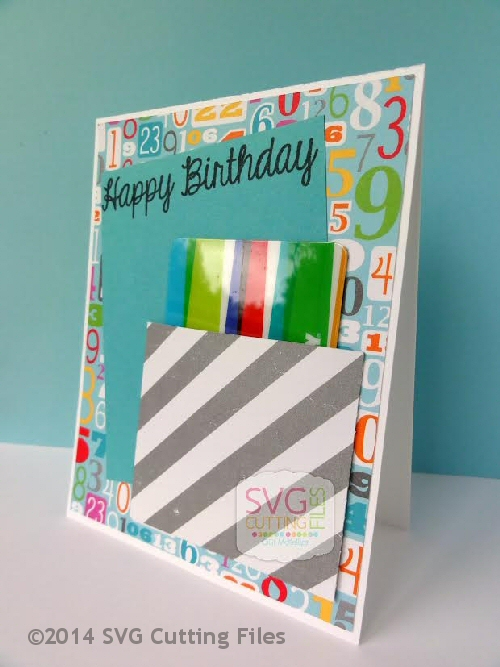 Gift Card CARD front with base