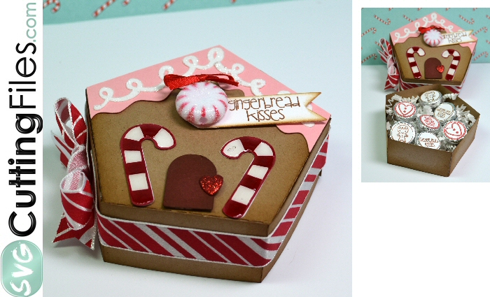 Gingerbread Lidded House