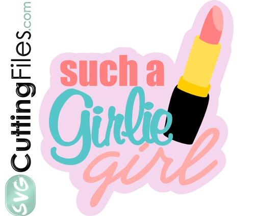 Girlie Girl Title