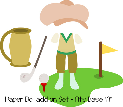 Paper Dolls Golf Add On
