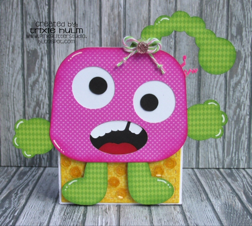 Goofy Monster Bag