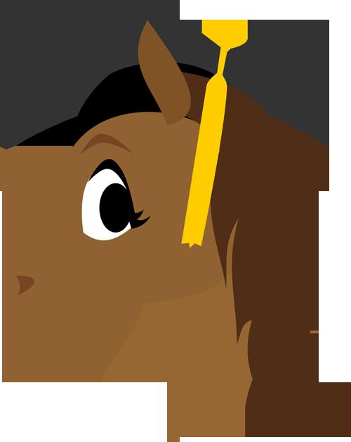 Graduation Horse