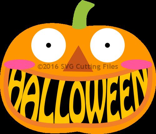Halloween Pumpkin Mouth