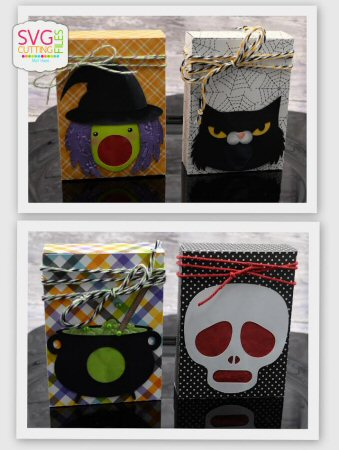 Halloween Punch Boxes Set 2