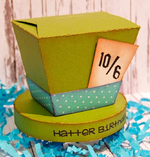 Mad Hatter Treat box
