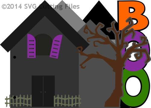 Halloween House BOO Book
