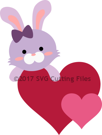 Heart Hugger Bunny