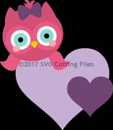 Heart Hugger Owl