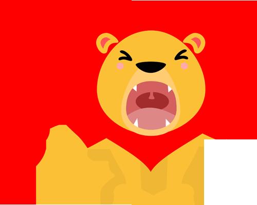 Heart Mane Lion