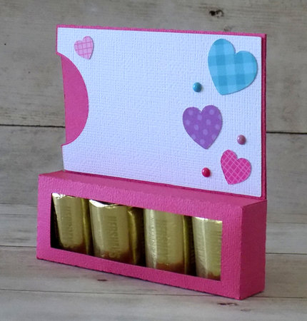 Heart Nugget Gift Card Holder