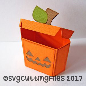 Hexagon Pumpkin Box