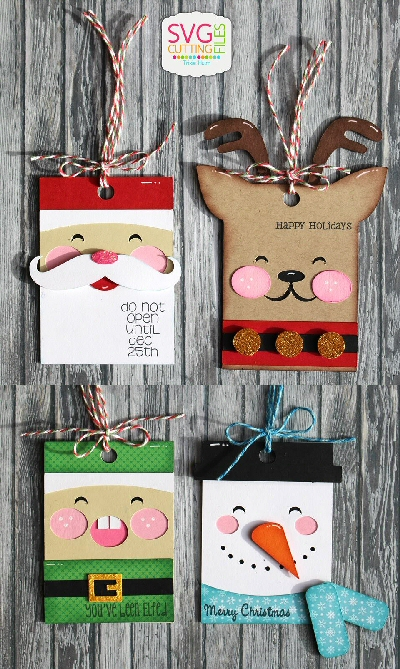 Holiday Hang Tags - Christmas