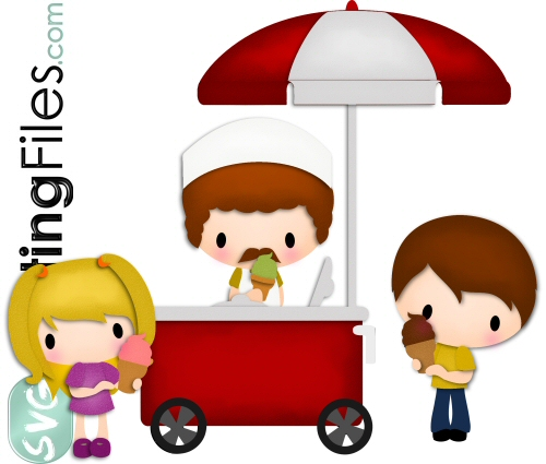 Ice Cream Cart Kids