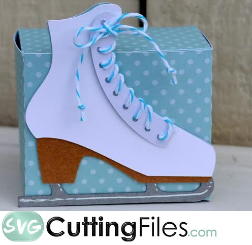 Ice Skate Treat Box