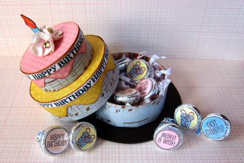 Icing Tiered Cake Box