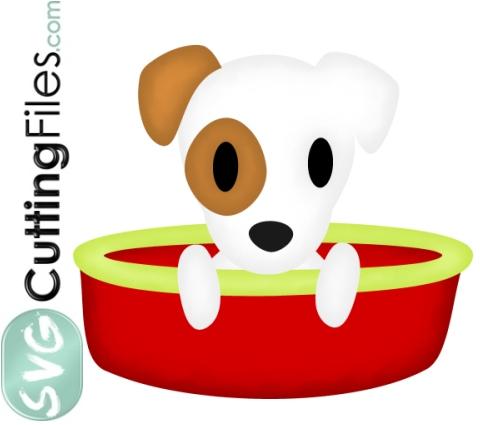 Jack Russell Terrier Basket