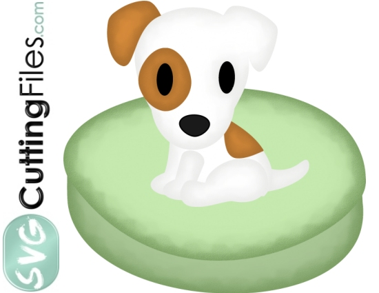 Jack Russell Terrier Doggie Bed
