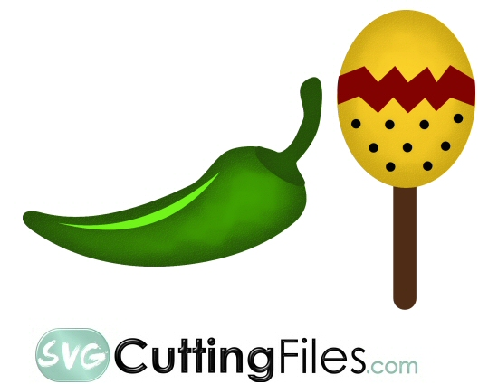 Jalapeno and  Maracas