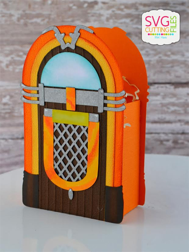 Jukebox Treat Box