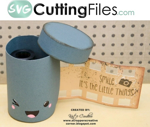Kawaii Film Canister Box