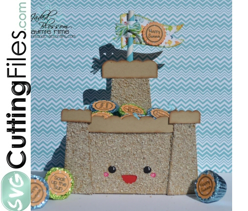 Kawaii Sandcastle Treat Box