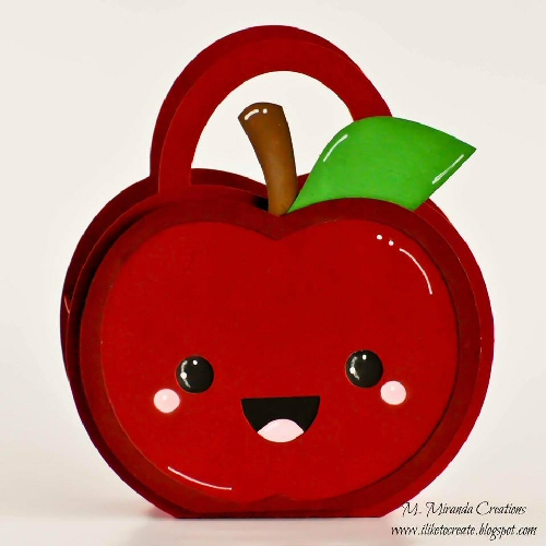 Kawaii Apple Bag